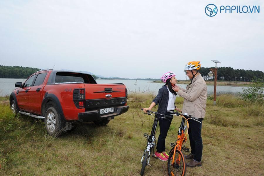Du lịch cùng xe đạp gấp Papilo