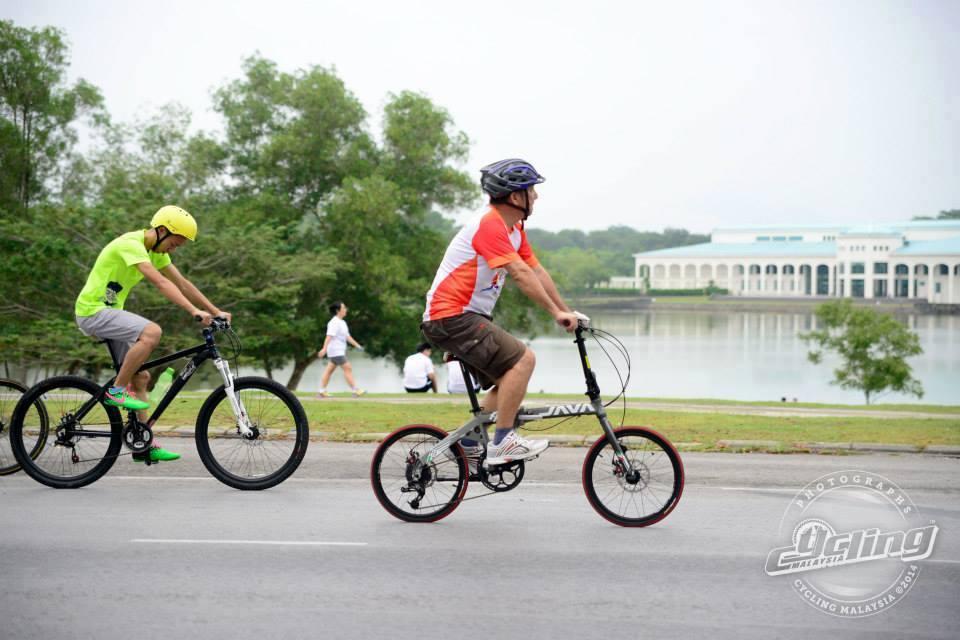 xe đạp gấp Java Fit 16SD
