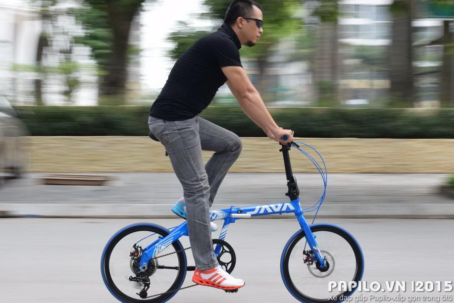 Xe đạp gấp Java Fit 8SD là xe đạp thể thao