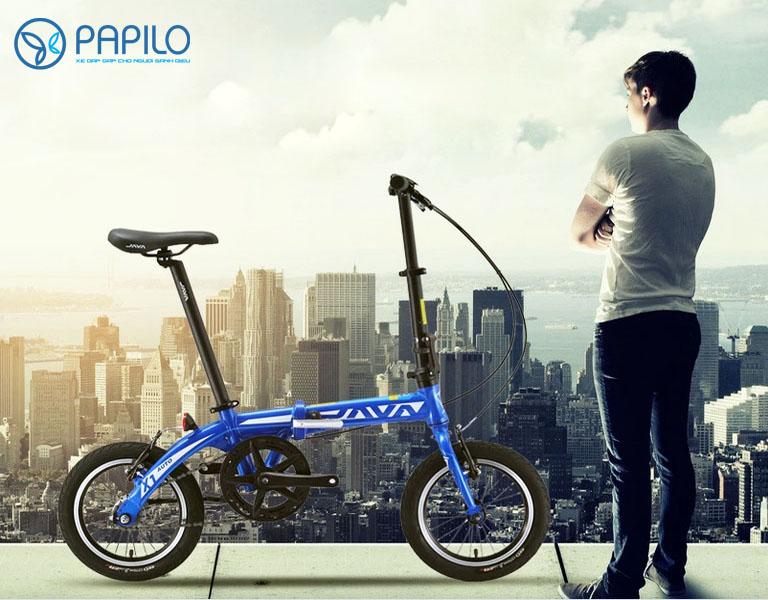 Xe đạp gấp Java X1 Auto