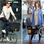 Xe đạp thời trang dành cho phụ nữ làm văn phòng