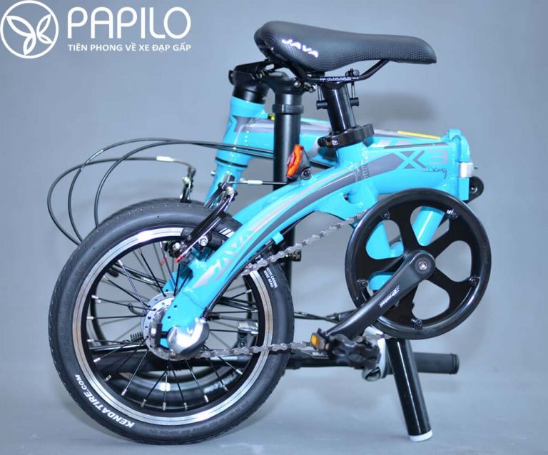 Xe đạp gấp java x3 – xe đạp học sinh cấp 1