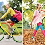 Thời trang phong cách cùng xe đạp