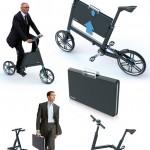 Bikoff – chiếc xe đạp gấp được thiết kế dành riêng cho dân công sở