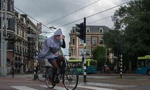 Những lời khuyên cho việc đi xe đạp trong mưa