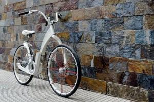 Gi-Bike: Xe đạp điện gấp thông minh kết nối với smartphone