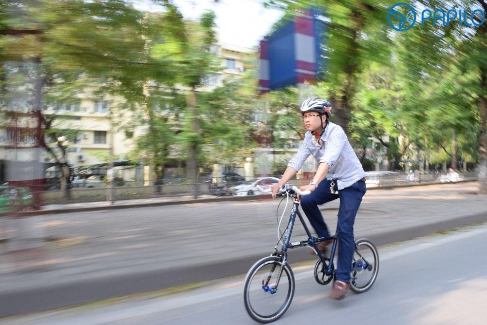 Xe đạp gấp cho giới trẻ