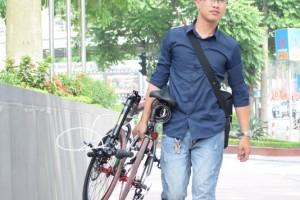 Xe đạp gấp phong cách thể thao cá tính