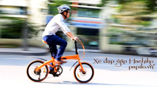 Xe đạp gấp Hachiko, xe đạp gấp, xe dap gap, xe đạp thể thao, xe dap the thao gap gon, xe đạp thành phố, xe đạp đua, xe đạp thời trang, Hachiko folding bike, xe đạp Nhật Bản