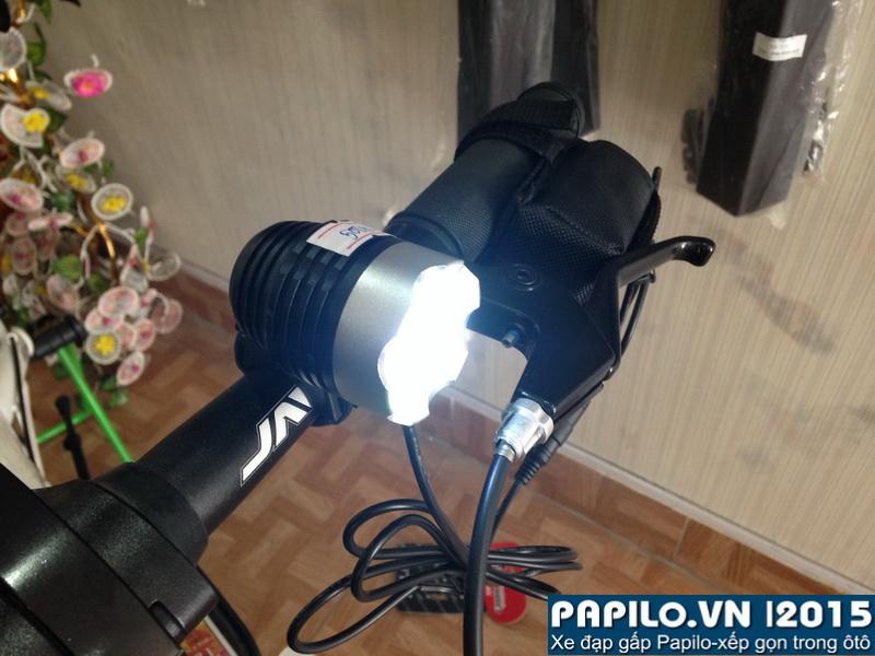 Đèn pha pin xạc 1 bóng led