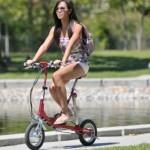 """Xe đạp điện """"gấp"""" VeloMini"""