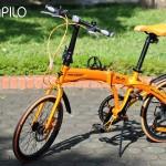 Xe đạp gấp Hachiko – chiếc xe bán chạy nhất trong tháng 5.2017 tại Papilo