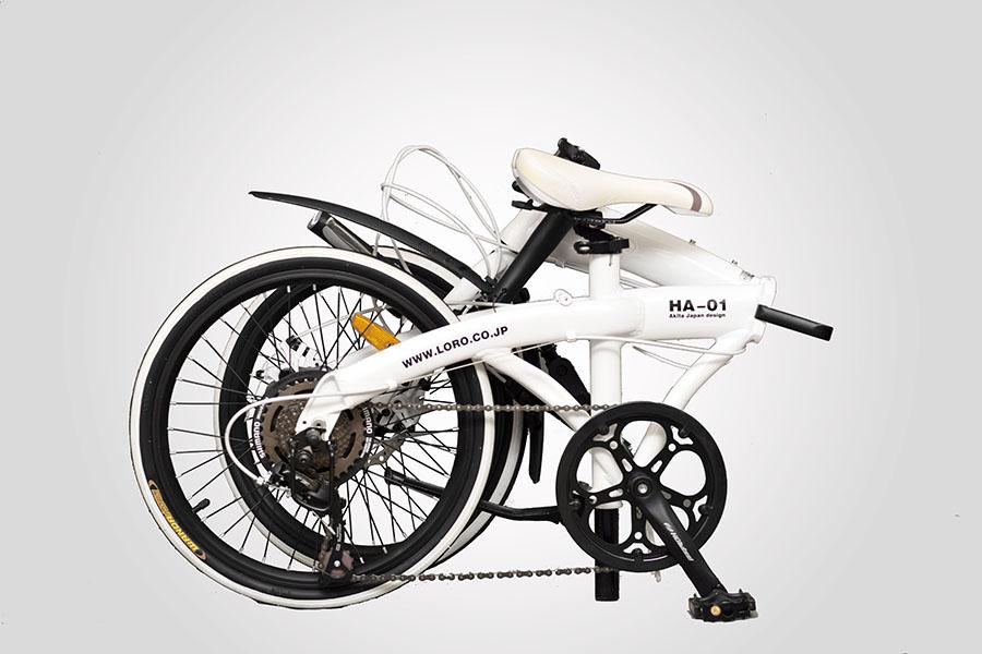 Xe đạp gấp Hachiko HA01 - Nhập khẩu chính hãng từ Nhật Bản