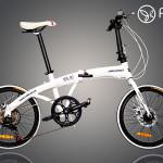 Xe đạp gấp Hachiko HA 01- Nhật Bản