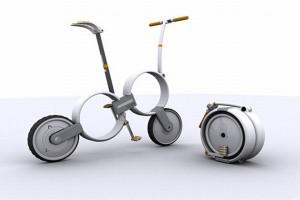 Xe đạp gấp tương lai