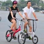 Xe đạp gấp bánh 14 inch có phù hợp cho người lớn?