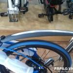 Chắn bùn xe đạp dán bạc