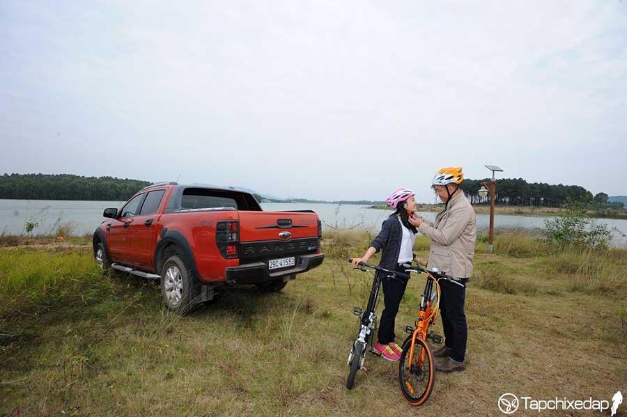 Xe đạp gấp tạo sự khác biệt cho những chuyến đi xa