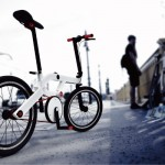 Xe đạp gấp bấm mở tự động