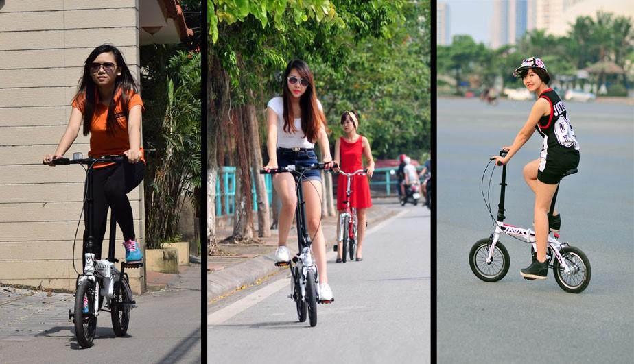 Khách hàng có xe đạp gấp tốt nhất