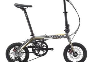 Xe đạp gấp Java X1 -7s ghi