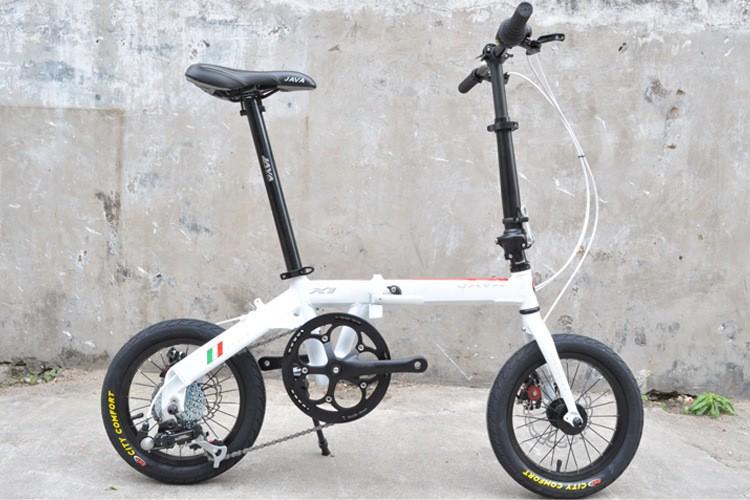 Xe đạp gấp Java X1 7 speed thương hiệu ý