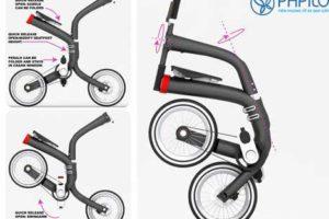 le pliable folding bike xe dap gap