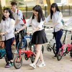 Học cấp 2 nên đi loại xe đạp gấp thể thao nào?