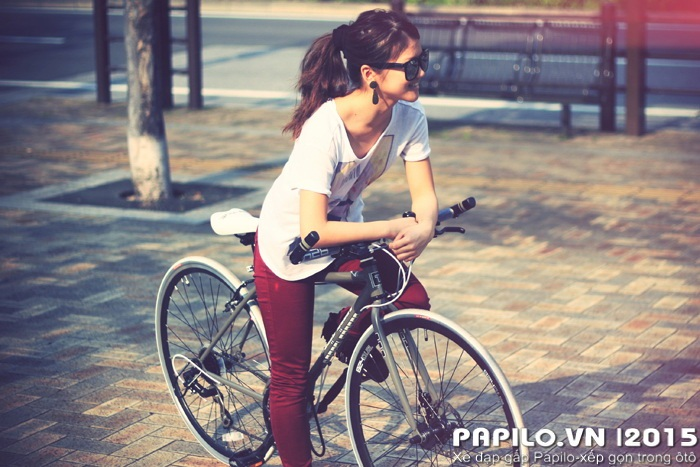 Đi xe đạp thể thao dáng không phù hợp