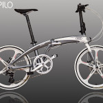 Xe đạp gấp Audi 2017 – quà tặng của hãng xe hơi Audi