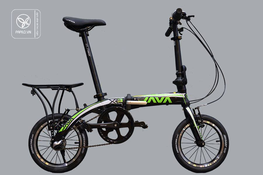 Xe đạp gấp java x3 siêu nhẹ