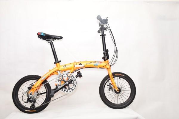 xe đạp gấp sava p16