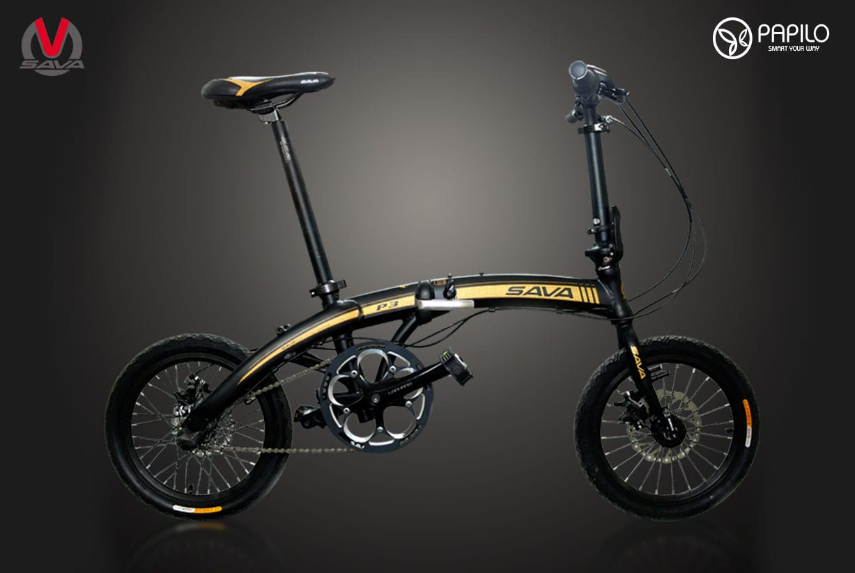 Một cách đơn giản đề có xe đạp gấp Sava hiện đại