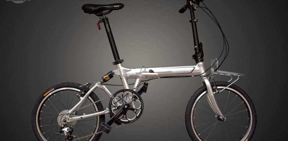 xe đạp gấp Sava P9