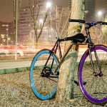 Xe đạp thể thao có khóa chống trộm hiện đại