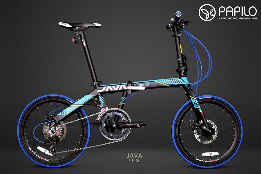 Xe đạp gấp Java Fit 18s - Nhanh nhất, mạnh mẽ nhất