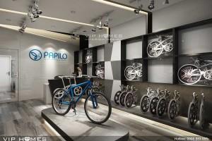 xe đạp gấp papilo