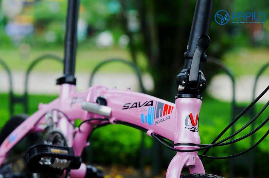 xe đạp gấp sava
