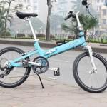 Leisure STB – xe đạp gấp mỏng nhất trên thị trường