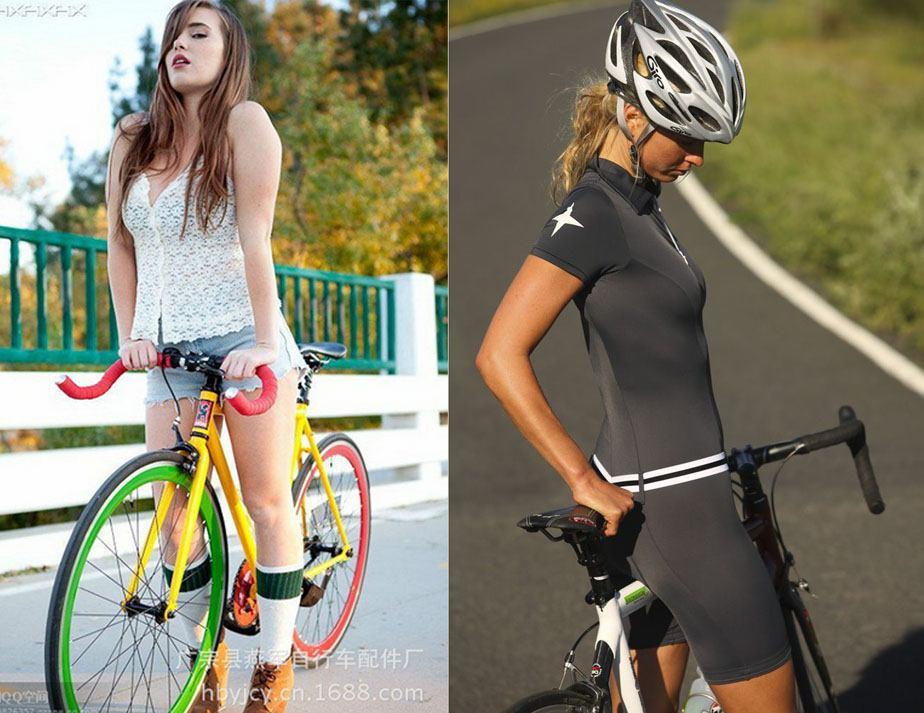 Đạp xe có bị to chân không?