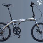 Xe đạp gấp Java TT: kiểu dáng hiện đại phong cách Ý
