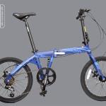 Xe đạp gấp java TT 2016