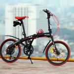 Có nên lắp túi cọc yên cho xe đạp gấp hay không ???