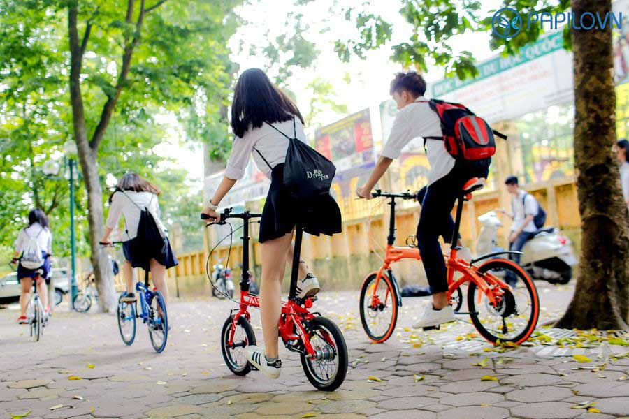 Xe đạp gấp java
