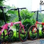 Xe đạp gấp có đến từ thương hiệu cao cấp?