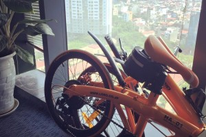xe đạp gấp hachiko