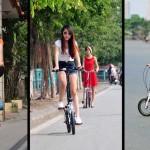 Ai bảo phái nữ đi xe đạp thể thao thì cứng nhắc, thiếu nữ tính? Thay đổi đi nhé!