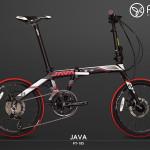 Xe đạp gấp JAVA Fit 18S  tốc độ và đẳng cấp