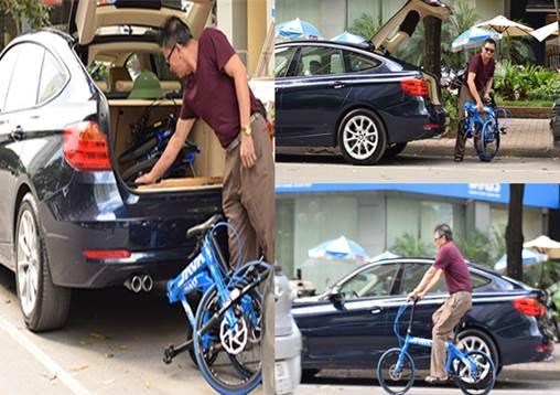 đi xe đạp thể thao để bảo vệ môi trường
