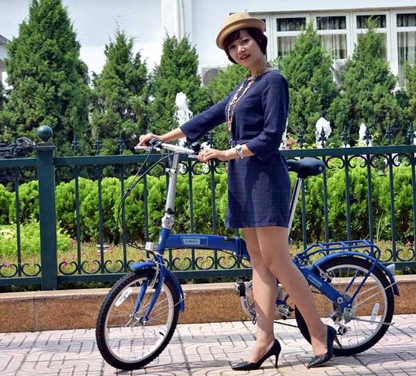 xe đạp gấp k-rock